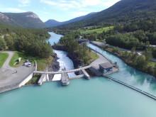 Nedre Otta - Dam Eidefossen 1