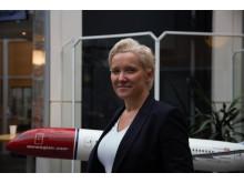 Helga Leknes, HR-Direktør i Norwegian