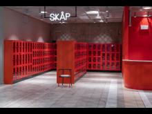 Stol på Kulturhuset i Stockholm