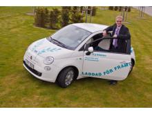Öresundskrafts VD Anders Östlund är laddad för framtiden