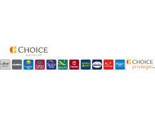 Choice Hotels International Logo. Horizontal.