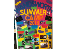 Image from 2018 summer camp - wall freize