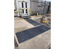 Fibrelite engineered bespoke retrofit GRP trench access covers for the Hinkley Point (A) Nuclear Power Station, currently under decommissioning