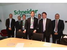 Ny samarbejdsaftale ml DONG og Schneider Electric underskevet i dag