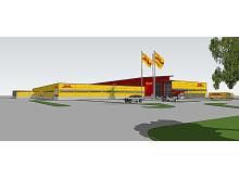 Swedavia bygger ny anläggning med DHL som hyresgäst