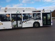 Bananmingel på #hursvårtskadetva-bussen