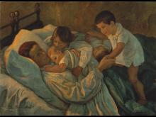 Marie Sandholt - Moderglæde, ca. 1900. Ole Hein Petersen/ARoS