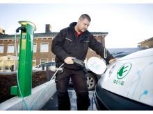 Umeå Energi säljer laddstolpar till Bilinvest
