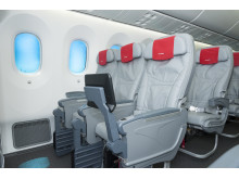 Interior 787 Dreamliner