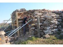 Gråborgs porttorn återställs