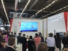 Launch of Nammo's new concept for ramjet powered 155 mm artillery ammunition.