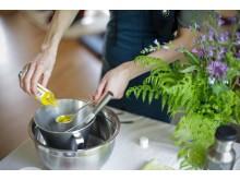 """Recept: """"Relaxing Organic Body Butter"""" av Gaja Beuker från Healthy Roots, från Hållbarhetshelgen på Ängsbacka"""
