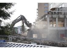 Riving av bygg i Utmarkveien 2 på Bøler