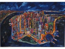 Manhattan at night, D.Ralfs