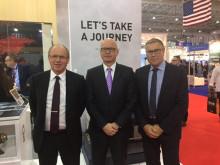 CTT Systems & Satair Group signing at Dubai Airshow (700 pixels)