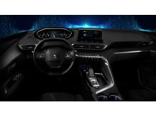 Första bilderna på Peugeots nya i-Cockpit®