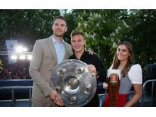 FC Bayern Meisterfeier 2019-Neuer-Kimmich