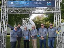 Die Macher des OCEAN.DOME v.l. E. Thomas, J. Hehn, A. Villwock, U. Wanger, D. Opitz, T. Dietsche