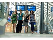Ab April 2017 startet vom Flughafen Leipzig/Halle eine Linienflugverbindung nach Moskau
