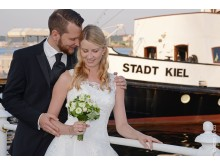 MS Stadt Kiel Paar romantisch©FOTO VICO