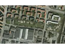 Tävlingen Opportunity Space skapar tillfällig aktivitetsplats i Enskifteshagen i Malmö