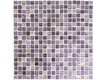 Mosaik Eventyr Den Lykkelige Familie Lilla 30x30,  1.248 kr. M2.