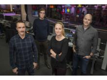 Nominerade i kategorin Årets Förnyare 2018: Oskar Nyqvist, Ola Hjalmarsson, Fredrik Edgren och Linnea Heppling