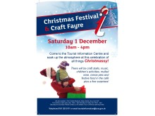 Christmas festival at the tourist information centre