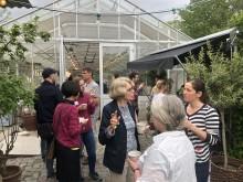 Pollineringsforum på Rosendals trädgård