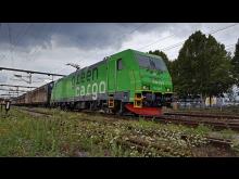 BR-lok och vagnar Green Cargo