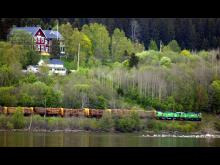 Virkestransport Green Cargo