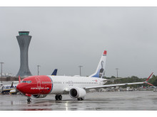 Norwegian 737 MAX - Sir Freddie Laker at Edinburgh