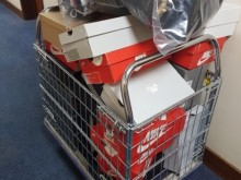 Clothing and shoes seized