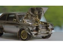 Diamantbesat Ford Escort