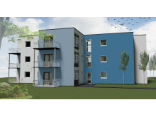 Planungsbeispiel Mikrowohnungen in Modulbauweise
