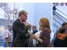 Olof Persson och Annie Lööf på Industridagen 2013