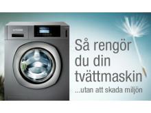 Rengör tvättmaskinen