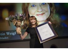 Kerstin Weigl, Aftonbladet, vinnare av Lukas Bonniers Stora Journalistpris 2015!