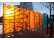 Konstverket Wind Wall