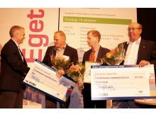 Strömstad och Åre delade vinnare 2009