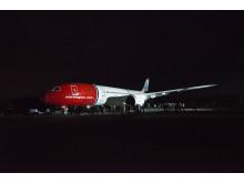 Norwegians första Dreamliner leveras från Boeing 28 juni 2013