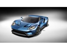 Helt ny Ford GT ble vist for første gang på den internasjonale bilutstillingen i Detroit