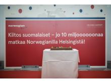10 miljoonaa matkustajaa, Helsinki 26.10.2016
