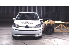 Volkswagen up! side impact test Dec 2019