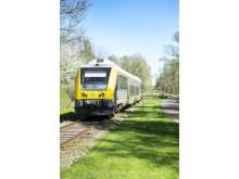 Sveriges vackraste tågresa bild 5 - tåg vid Trolmen (stående bild)