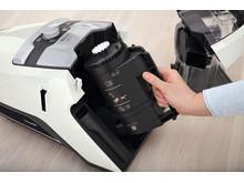 Miele Blizzard CX1 - behållaren för fint damm