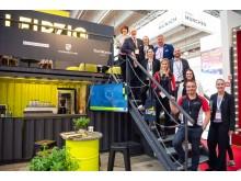 Leipzig-Team auf der IMEX 2019