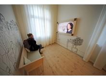 """Mendelssohn-Haus: Ausstellung """"Und wo ist Fanny?"""" - Salonraum"""
