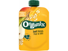 Organix just mango pear and oats