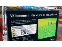 Digitala spårkort på Lugnets arena